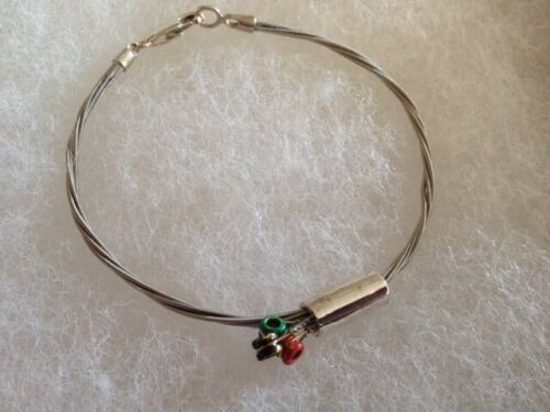 Wear Your Music Used By Ziggy Marley Authentic Guitar String Bracelet COA