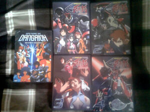 Dangaioh and Great Dangaioh anime DVDs complete series