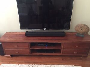 Tv cabinet - solid wood Lane Cove Lane Cove Area Preview