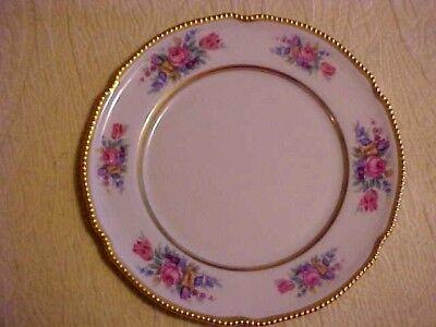 Vintage Castleton Bouquet Salad Plate USA