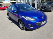 2010 Mazda 2 DE10Y1 MY10 Neo Blue 5 Speed Manual Hatchback Bridgewater Adelaide Hills Preview