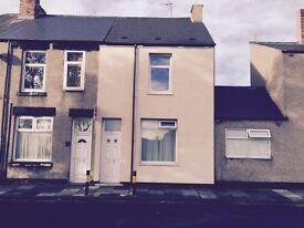 Spacious 3 bedroom mid terrace property for rent on Jesmond Road, Hartlepool
