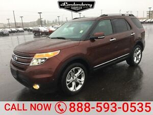 2015 Ford Explorer 4WD LIMITED Leather,  Sunroof,