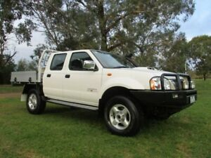 2015 Nissan Navara D22 S5 ST-R White 5 Speed Manual Utility Lucknow East Gippsland Preview