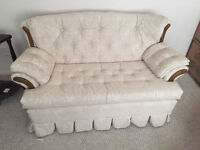 Love seat and Rocker chair