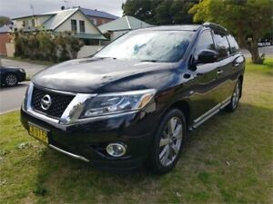 2014 Nissan Pathfinder R52 TI (4x4) Black Continuous Variable Wagon Broadmeadow Newcastle Area Preview