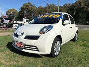 2009 Nissan Micra K12 White 4 Speed Automatic Hatchback Clontarf Redcliffe Area Preview