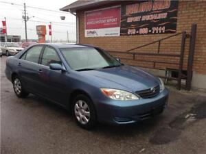 2002 Toyota Camry LE 4 cyl FWD