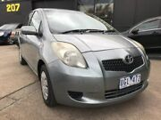 2006 Toyota Yaris NCP90R YR Grey 4 Speed Automatic Hatchback Maidstone Maribyrnong Area Preview