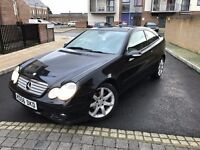 Mercedes Class 2.1 C220 CDI SE, 2007, Coupe,2 OWNERS,NEW MOT,FULL SERVICE,PANORAMIC SUNROOF,2KEYS