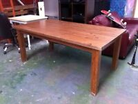 Large Wood dining table available ASAP