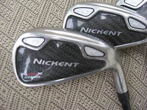 MAN'S GOLF CLUBS - - IRONS ONLY - -
