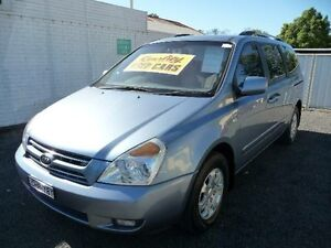 2010 Kia Grand Carnival VQ EXE Blue 5 Speed Automatic Wagon Nowra Nowra-Bomaderry Preview