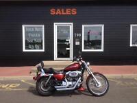 2008 Harley Davidson Sportster 1200 Custom - 26000 Miles