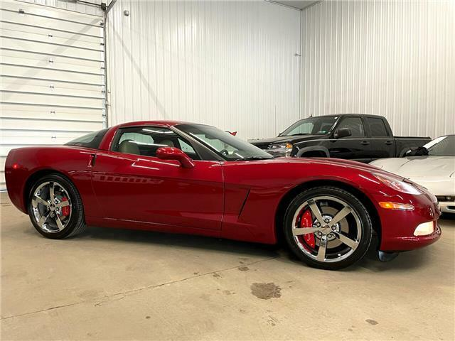 2010 Burgundy Chevrolet Corvette  3LT | C6 Corvette Photo 4