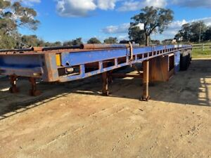 Trailer Flat Top Freighter 45ft Lead Tri axle SN1172 1TJL214 Malaga Swan Area Preview