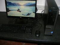 dell optiplex 390 computer intel i3 3.3ghz 4gb memory 500gb memory wireless