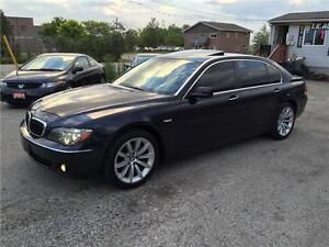 2008 BMW 750 LI LEATHER SUNROOF NAV CERTIFIED & E-TEST