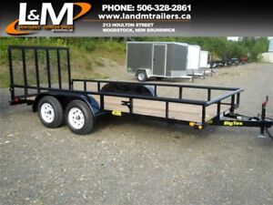 "NEW 2018 BIG TEX 77"" X 16' UTILITY TRAILER"