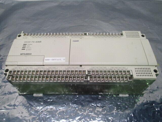 Mitsubishi FX-80MR-ES/UL Melsec Programmable Controller FX-80MR, 326321