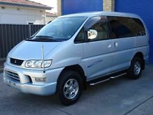 2004 Mitsubishi Delica Spacegear Series 3 Silver 4 Speed Automatic Wagon Caringbah Sutherland Area Preview