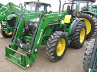 2010 John Deere 5075M 4WD Tractor with Loader