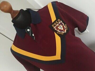 RALPH LAUREN  Herren Kurzarmpoloshirt  Gr. L bordo  UVP: 170€  Neu mit Etikett online kaufen
