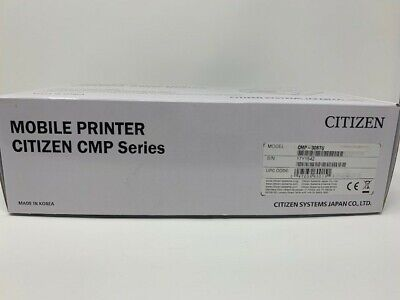 Citizen Cmp 30btu Mobile Printer