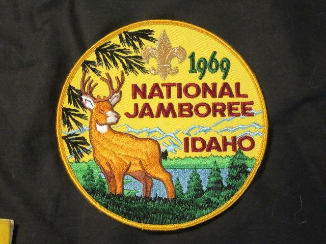 1969 National Jamboree Jacket Patch