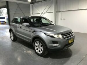 2012 Land Rover Range Rover Evoque LV SD4 Pure Grey 6 Speed Automatic Wagon Beresfield Newcastle Area Preview