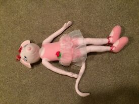 Soft toy Angelina Ballerina
