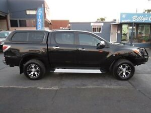 2012 Mazda BT-50 GT (4x4) Black 6 Speed Automatic Dual Cab Utility Condell Park Bankstown Area Preview