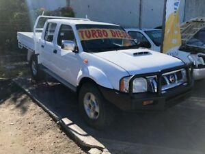 2011 Nissan Navara D22 Series 5 ST-R (4x4) White 5 Speed Manual Dual Cab Pick-up Clontarf Redcliffe Area Preview