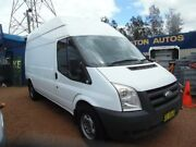 2010 Ford Transit VM MY08 High (LWB) White 6 Speed Manual Van Homebush West Strathfield Area Preview
