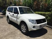 2014 Mitsubishi Pajero NW MY14 GLX LWB (4x4) White 5 Speed Manual Wagon Bowen Hills Brisbane North East Preview