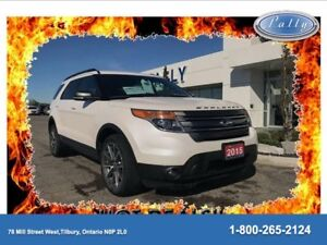 2015 Ford Explorer XLT, AWD, One Owner, Local Trade!!
