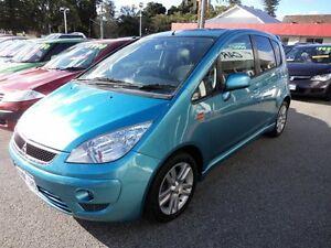 2010 Mitsubishi Colt Auto VR-X Blue 4 Speed Automatic Hatchback Victoria Park Victoria Park Area Preview