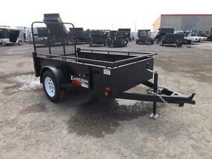 STEEL SINGLE AXLE UTILITY TRAILERS FROM $2095 - IN STOCK