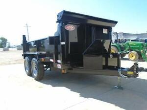 SAVE $300 - 5 TON HYDRAULIC DUMP TRAILER 6X10 BED - SALE PRICED London Ontario image 4