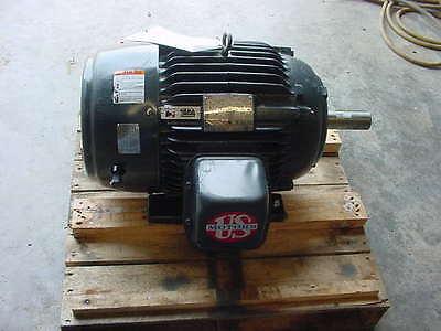 New Us Motors 15 Hp 1180 Rpm Electric Motor 208230460 3p