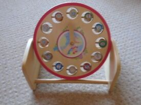 in the night garden childrens clock