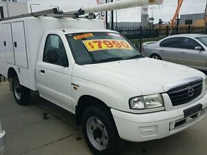 2004 Mazda Bravo White Manual Cab Chassis Dandenong Greater Dandenong Preview