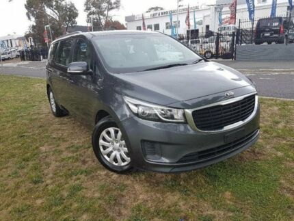 2015 Kia Carnival YP MY16 Update S Grey 6 Speed Automatic Wagon