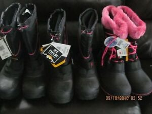 Three brand new winter boots for - 45 degrees. Sizes 8, 9 and 10 Edmonton Edmonton Area image 1