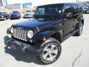 2017 Jeep WRANGLER SAHARA UNLIMITED (CLEAR OUT PRICE OF $39977!!
