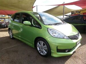 2013 Honda Jazz GE MY13 Vibe-S Green 5 Speed Automatic Hatchback Colyton Penrith Area Preview