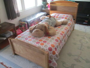 TWIN-SIZE CAPTAIN's BED - can  be one OR two - - Sell OR Trade