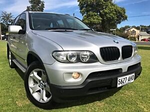 2004 BMW X5 E53 MY04 Steptronic Silver 5 Speed Sports Automatic Wagon Somerton Park Holdfast Bay Preview