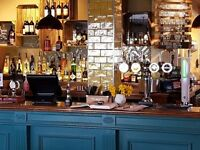 Part-time bar / waiting staff required for lovely new family friendly pub in Horfield