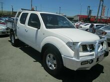 2009 Nissan Navara D40 RX (4x4) White 5 Speed Automatic Dual Cab Coopers Plains Brisbane South West Preview